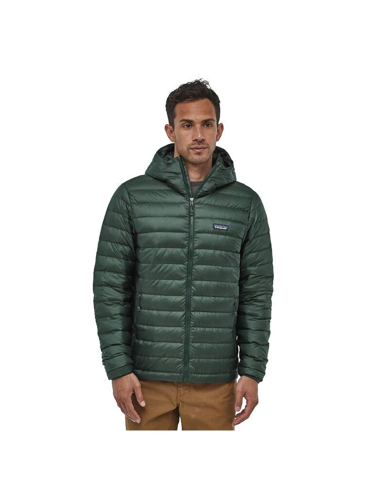 Patagonia M's Down Sweater Hoody-Carbon