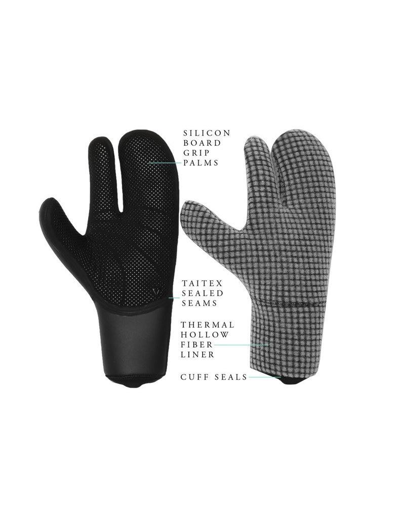 Vissla Seven Seas 5mm Claw Glove – BLK