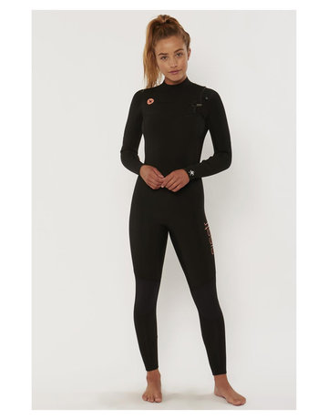 Sisstrevolution 7 Seas 4/3 ChestZip full – BLK