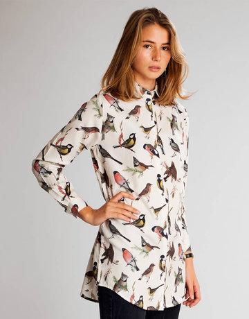 Dedicated Shirt Freder Autumn Birds – OWHT