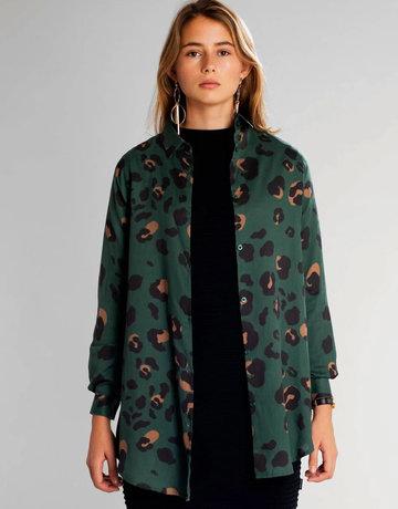 Dedicated Shirt Freder Lynx – Green