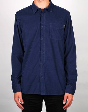 Dedicated Shirt Varberg Corduroy – Blue