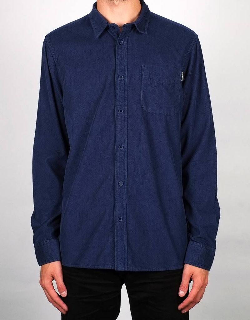 Dedicated Shirt Varberg Corduroy – Blue