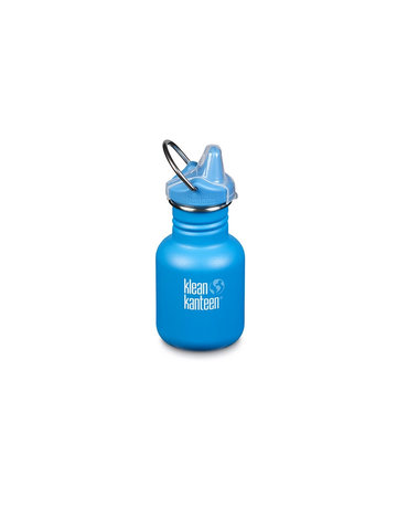 Klean Kanteen KIK 12oz Kid Insulated (Sport cap) Blue mat