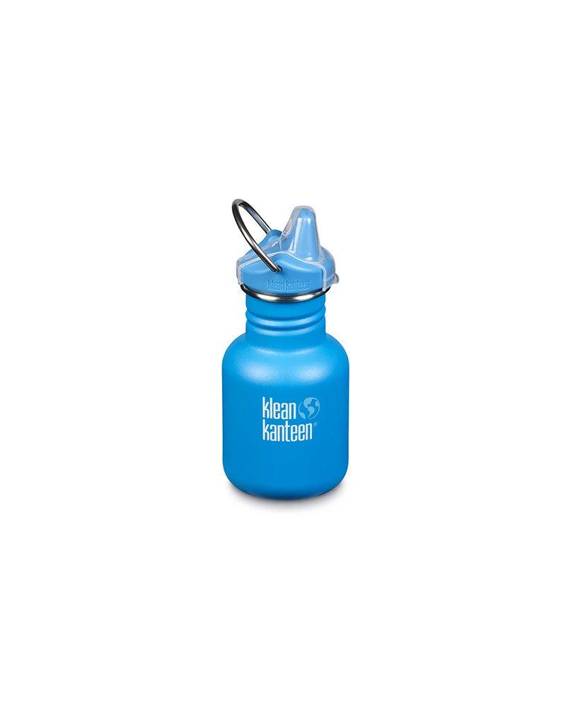 Klean Kanteen KIK 12oz Kid Insulated (Sport cap) Blue mat