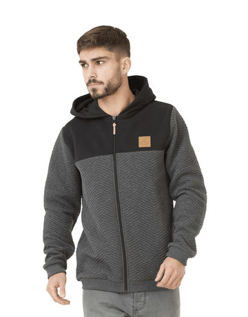 Picture Organic Clothing Come Zip hoody – Anthra