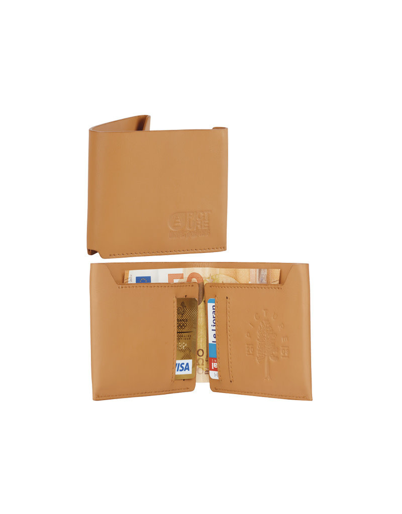 Picture Organic Clothing Wallet – Brown Leather