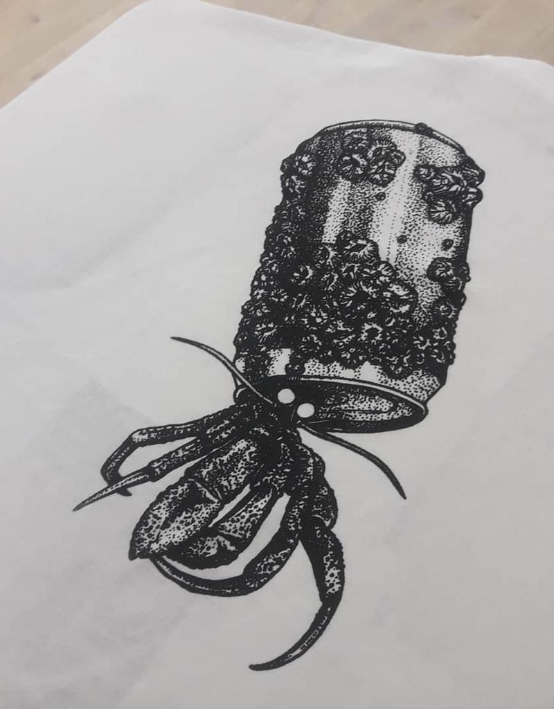 T-shirt Hermit Crab - White