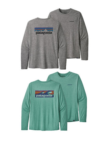 Patagonia M's L/S CapCool Daily Graphic (2colors)