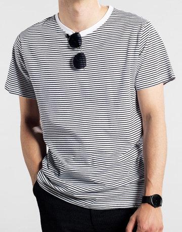Dedicated T-shirt Stockholm Stripes