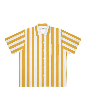 Dedicated Shirt S/S Marstrand Stripes