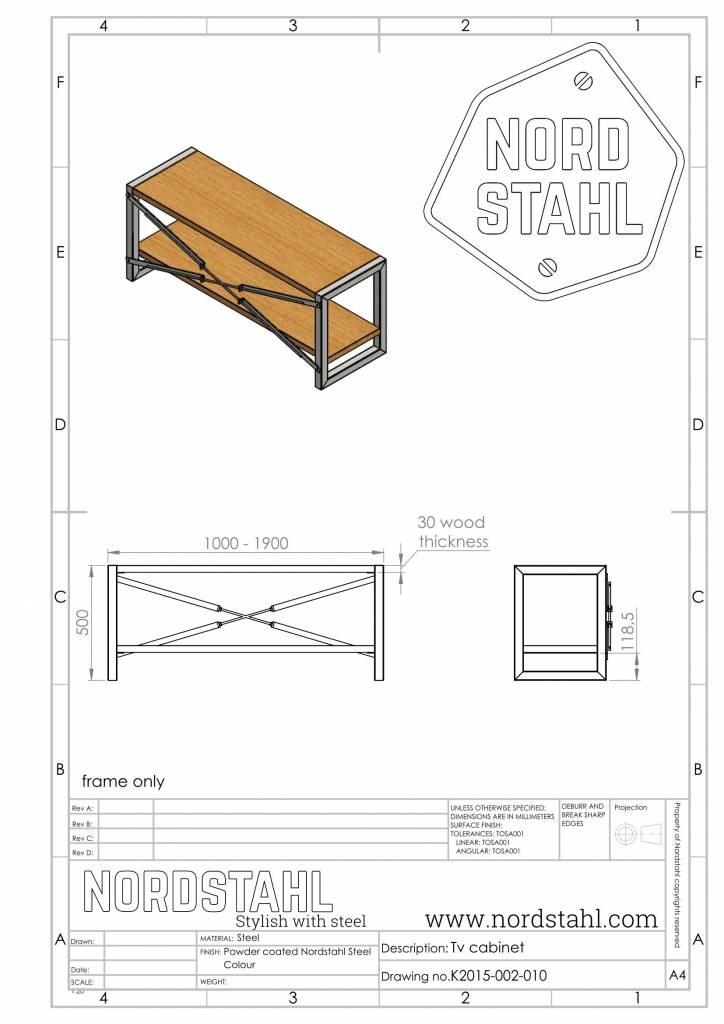 Nordstahl TV Cabinet frame-4
