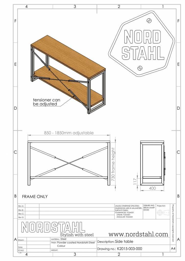 Nordstahl Sidetable cabinet frame-3