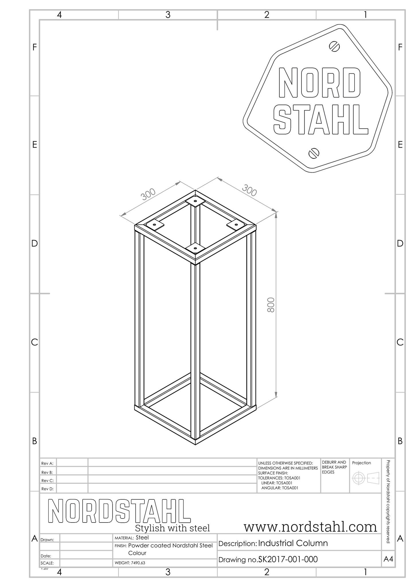 Nordstahl industrial column-4