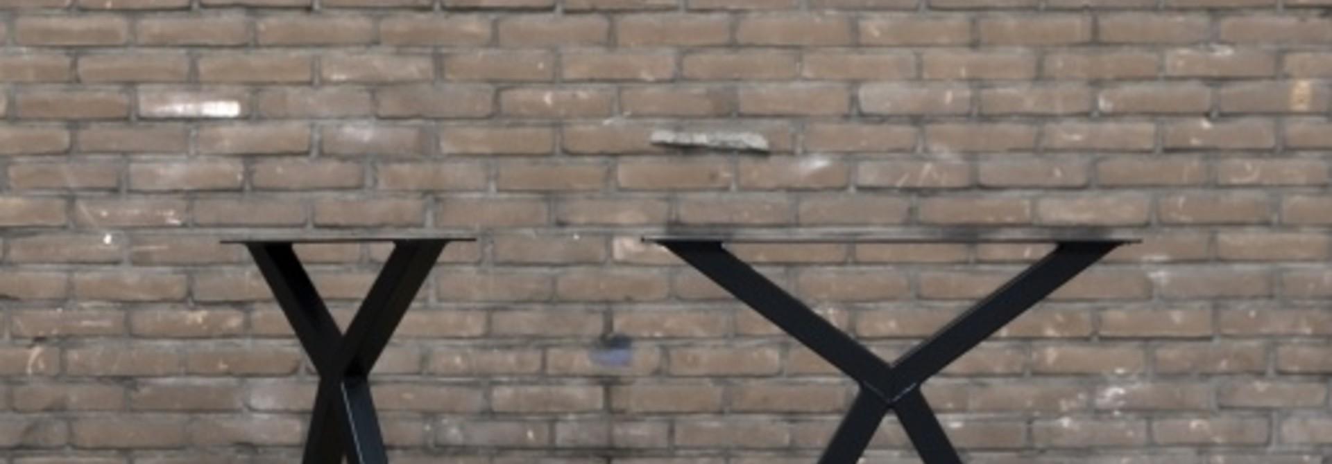 Nordstahl Scissor leg | Zwart