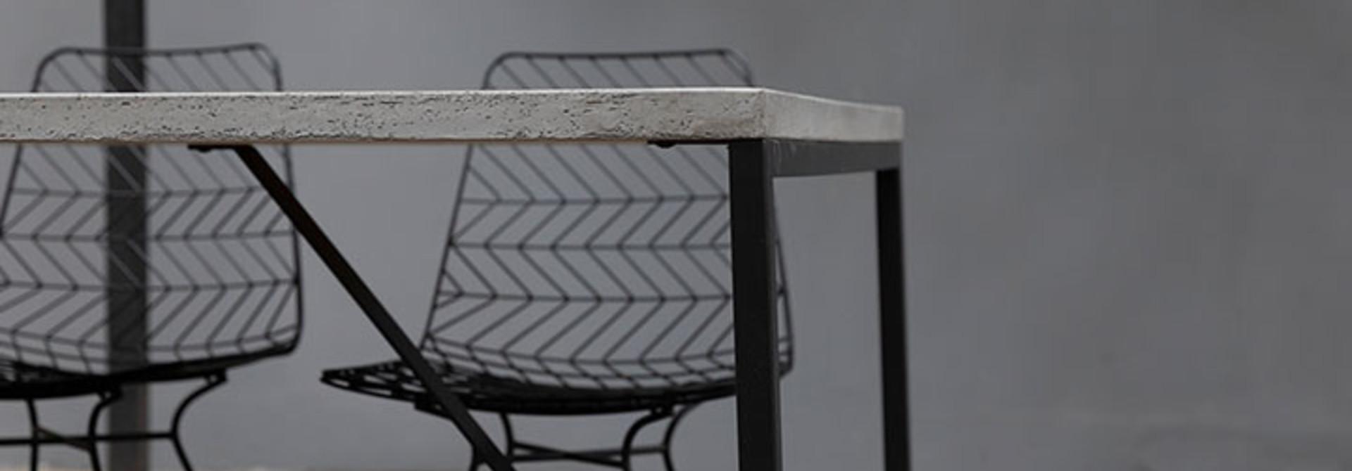 Tafelonderstellen vierkante tafels