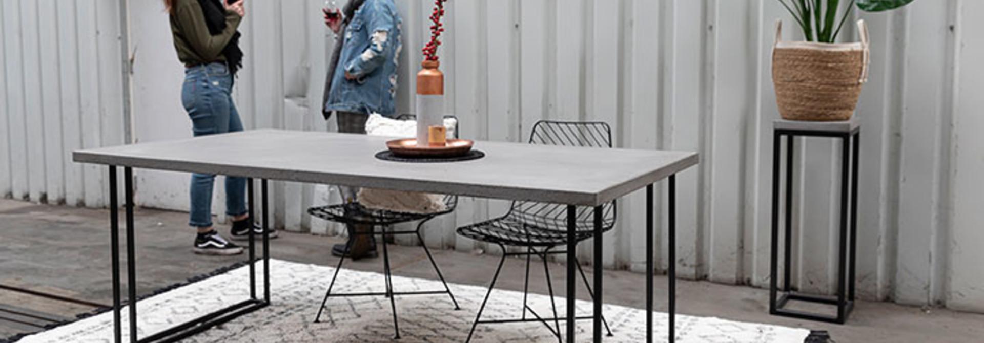 Tafelonderstellen rechthoekige  tafels