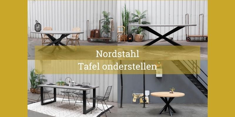 Nordstahl stalen tafelonderstellen