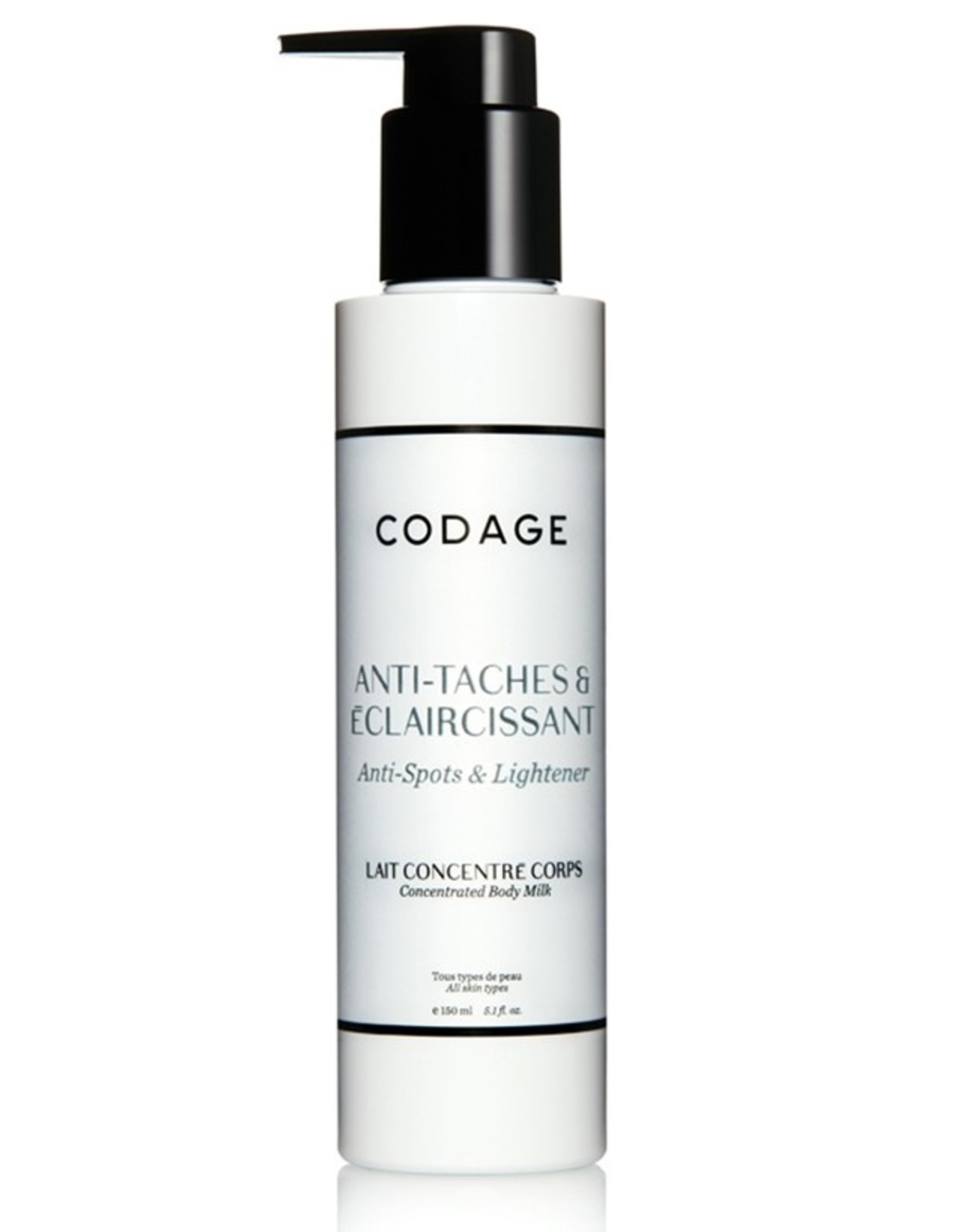 Codage Paris CODAGE PARIS  CONCENTRATED BODY MILK - Anti-Spots & Lightener 150ML