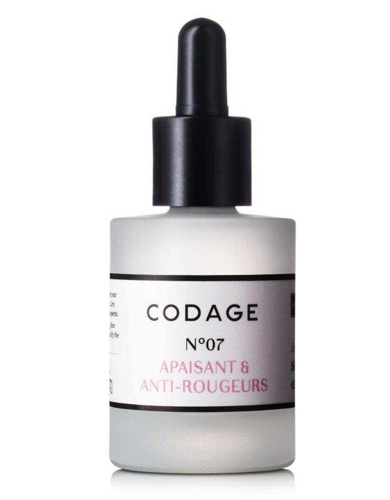 Codage Paris CODAGE PARIS - SERUM N°07  Soothing & Anti-redness 30ML