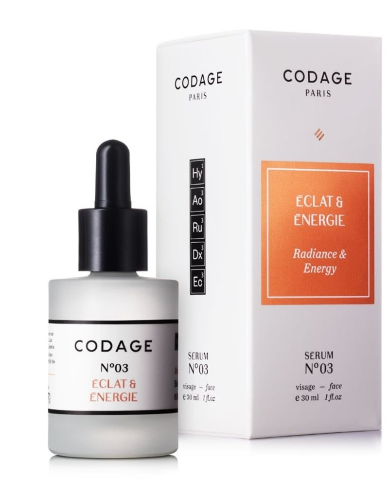 Codage Paris CODAGE PARIS- SERUM N°03  Radiance & Energy  30ML