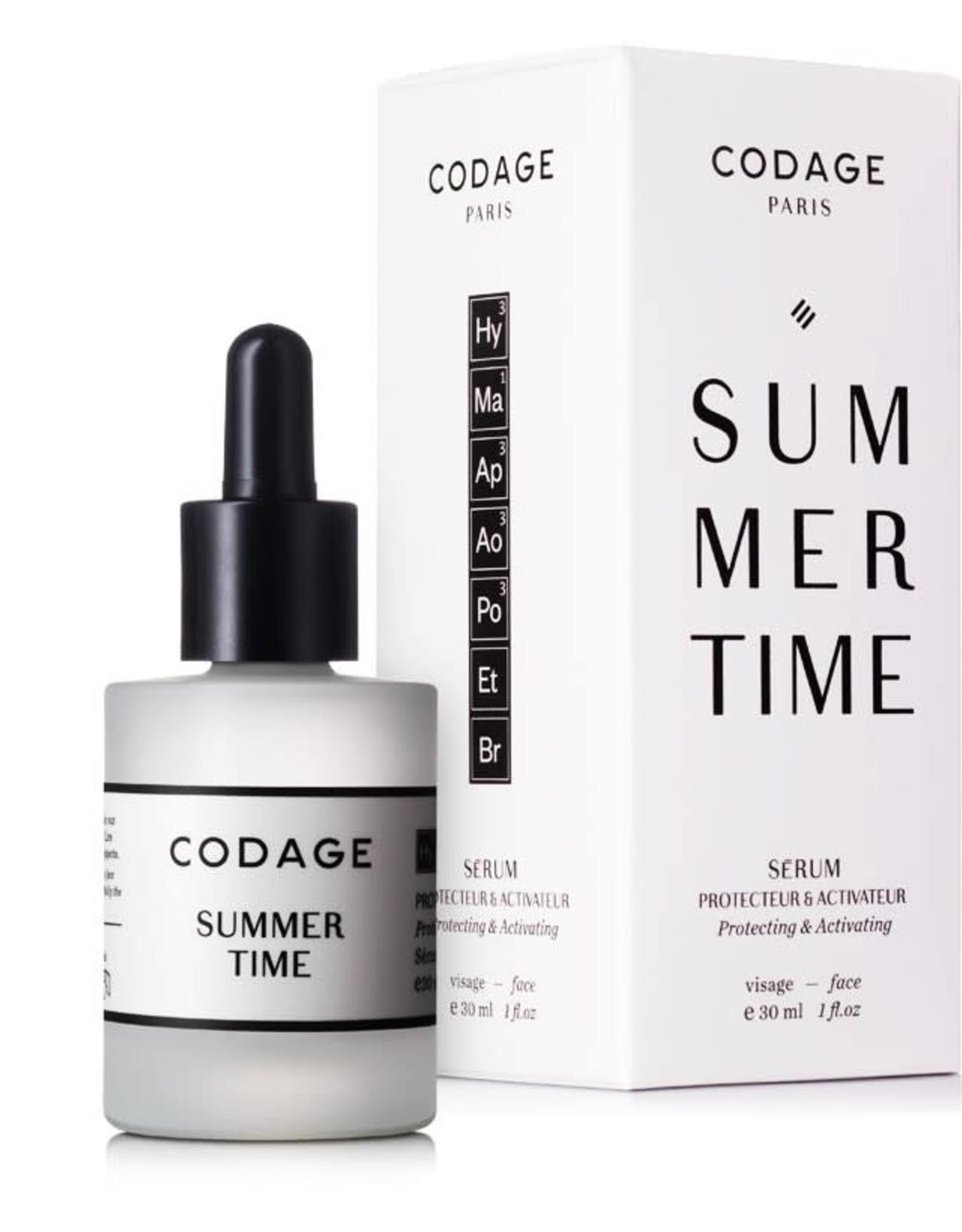 "Codage Paris CODAGE PARIS ""SUMMER TIME"" - Protecting & Activating 30ML"
