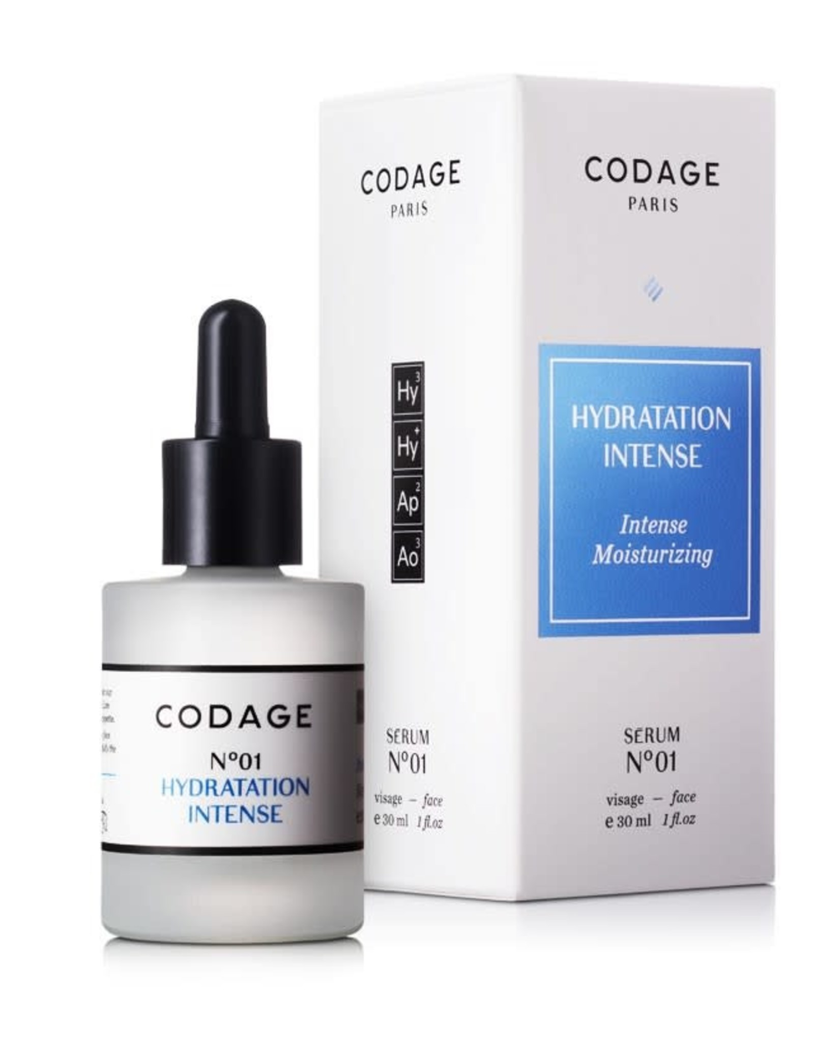Codage Paris CODAGE PARIS -SERUM N°01  Intense moisturizing  30ML