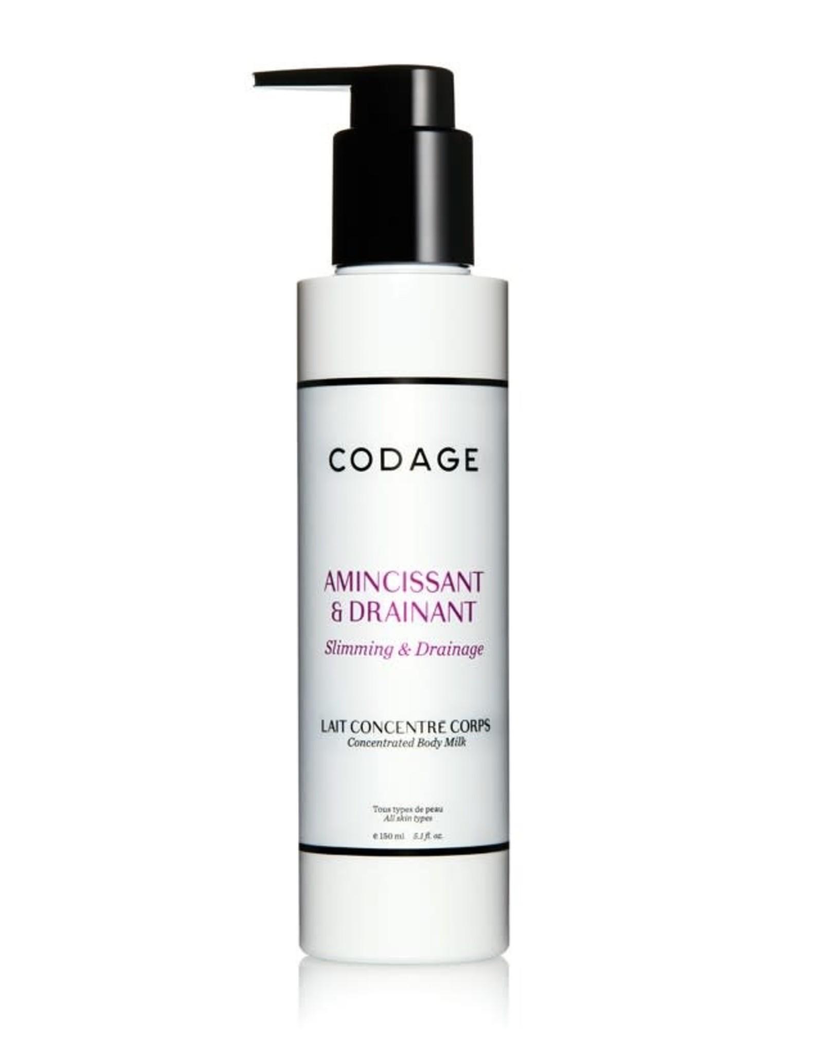 Codage Paris CODAGE PARIS  CONCENTRATED BODY MILK - Slimming & Drainage 150ML