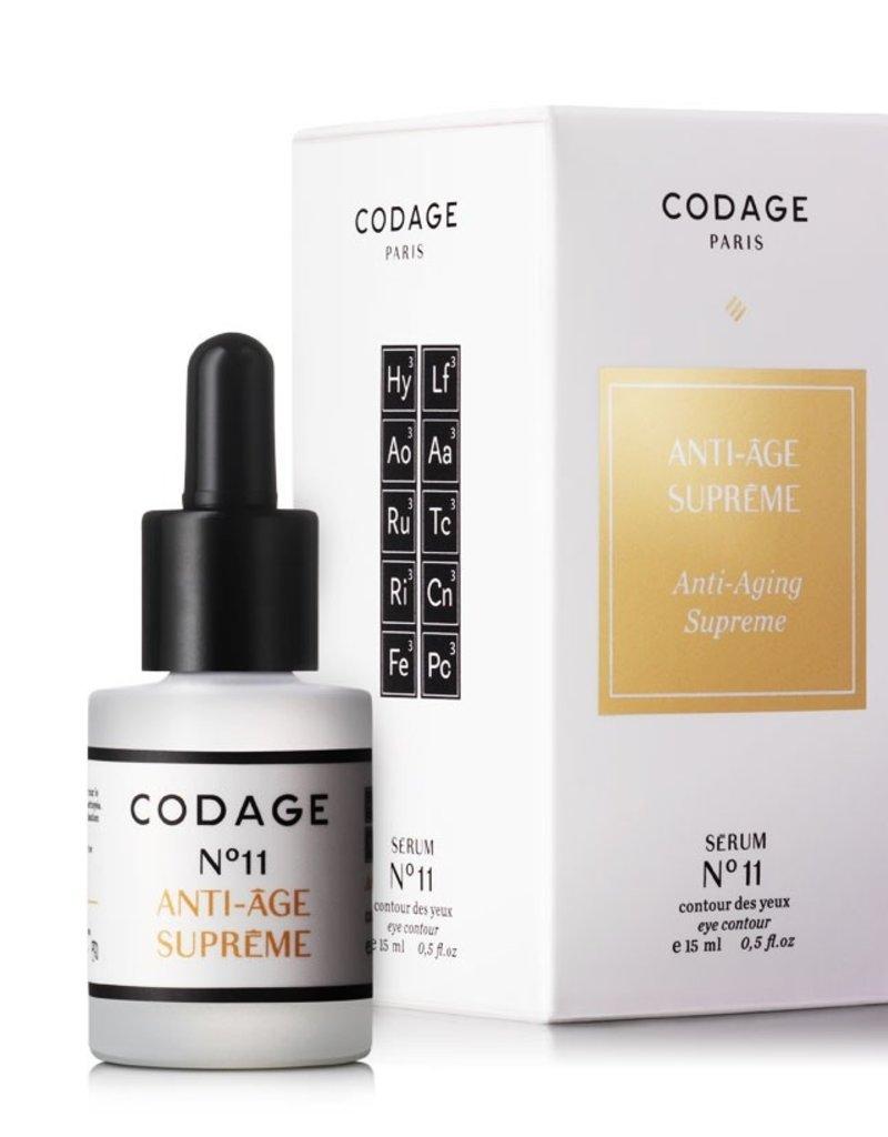 Codage Paris CODAGE PARIS - Anti-aging supreme Eye contour 15ML  SERUM N°11