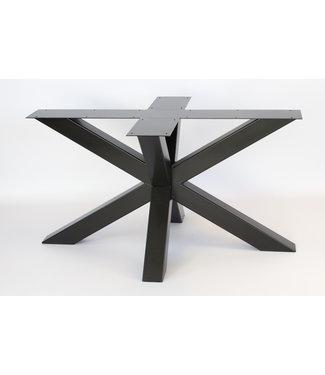 Steiken Stalen 3D kruispoot onderstel - 10x10
