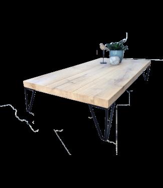 Steiken Rechthoek eiken salontafel 120x60x22 cm