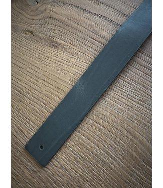 Steiken Groene Leren plankdragers - set van 2
