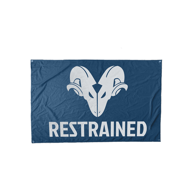 restrained PRE-ORDER RESTRAINED FLAG