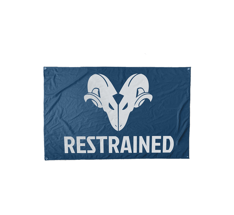 RESTRAINED FLAG