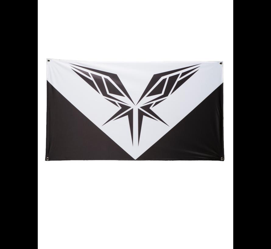 LIMITED: RADICAL BLACK AND WHITE FLAG BIG