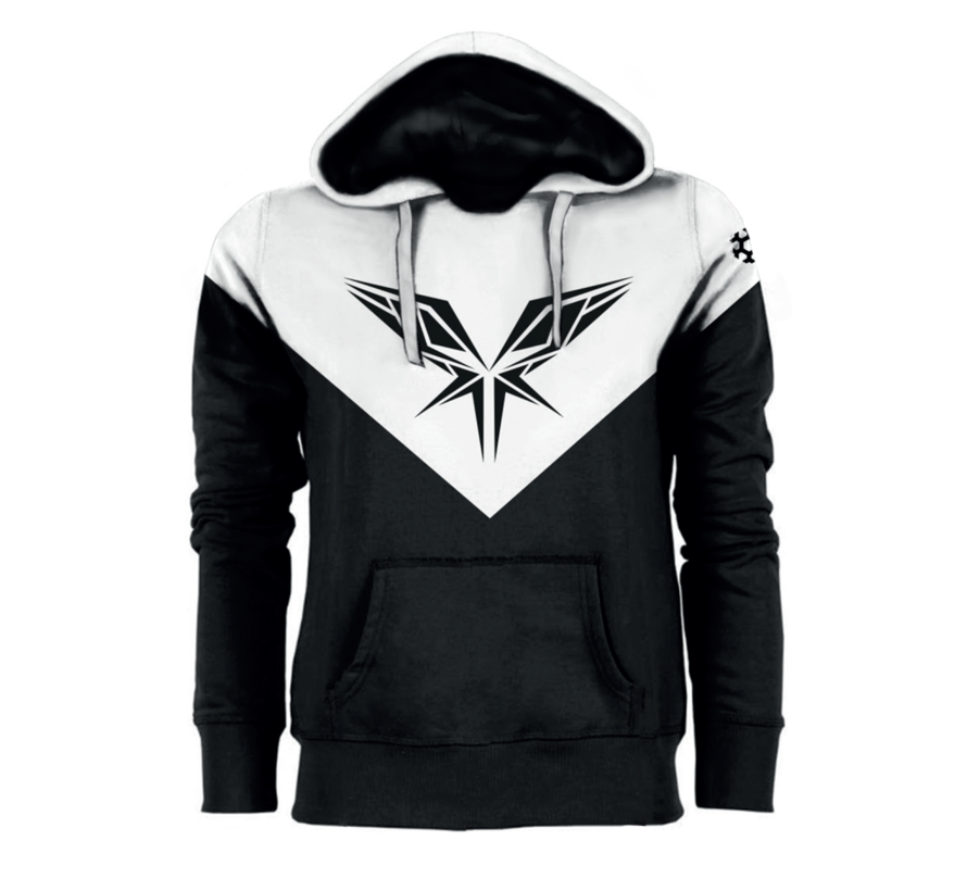 BLACK / WHITE HOODY