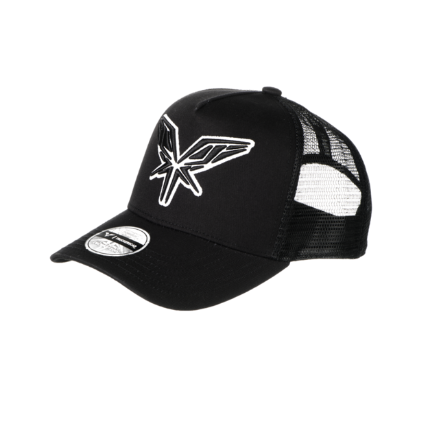Radical Redemption RADICAL TRUCKERSCAP BLACK AND WHITE