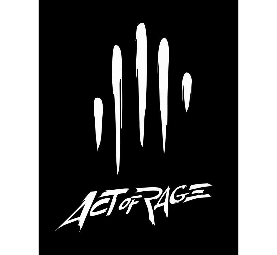 Act of Rage car sticker