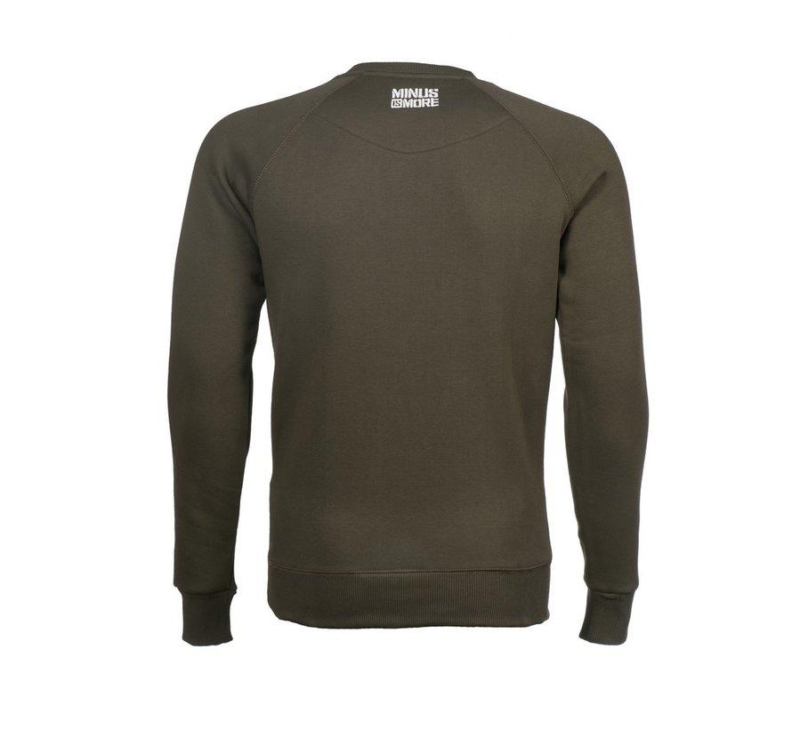 Green Minus Militia sweater