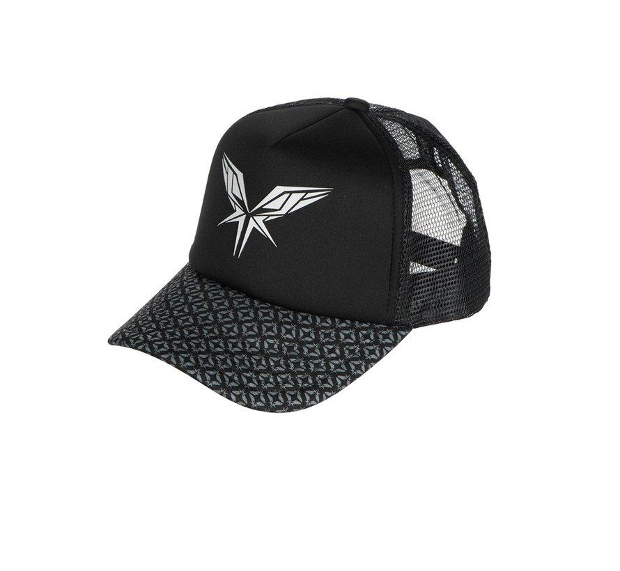 Radical pattern cap