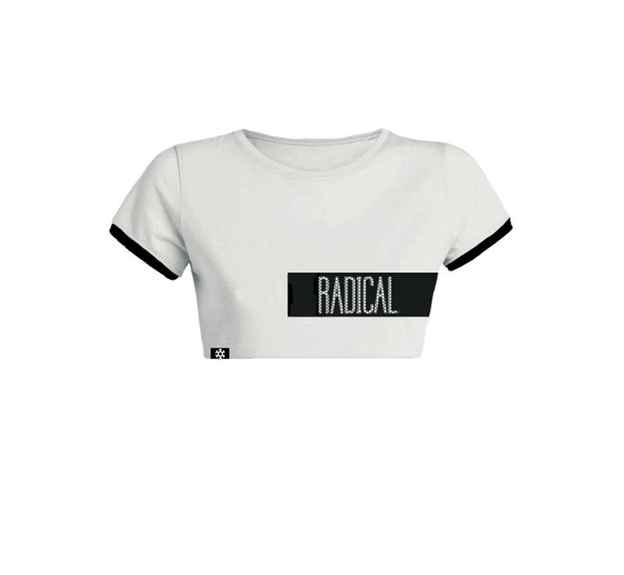 Radical meshed crop-top