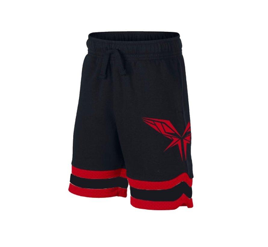 Radical black / red shorts