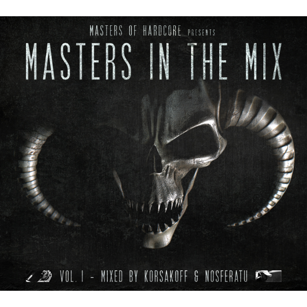 MASTERS OF HARDCORE MASTERS IN THE MIX. VOL 1 by Korsakoff & Nosferatu