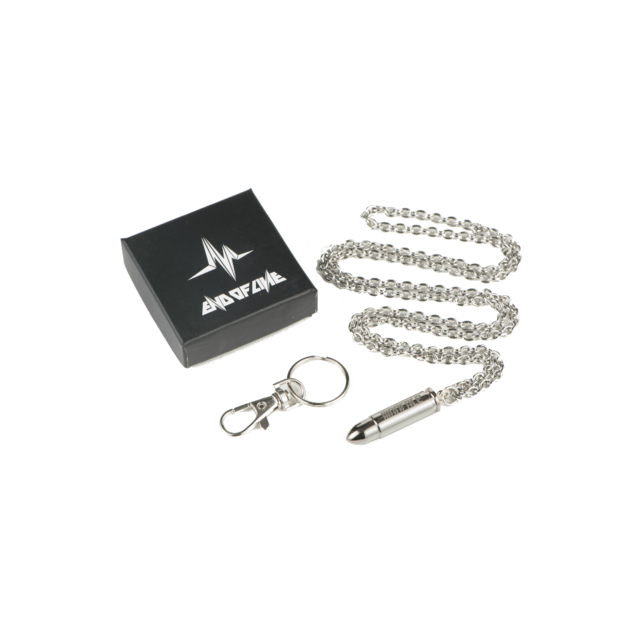 WARFACE BULLET NECKLACE