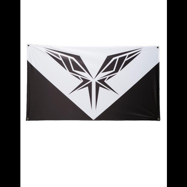 RADICAL BLACK AND WHITE FLAG