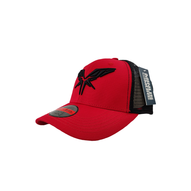 Radical Redemption RADICAL BLACK / RED TRUCKERSCAP
