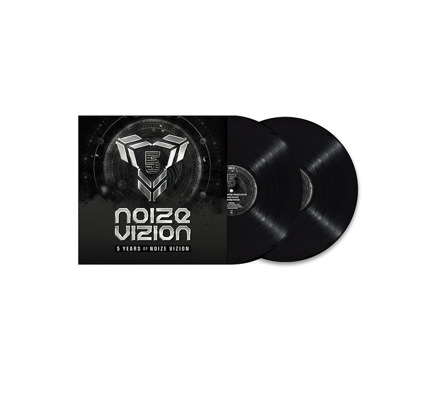 Pre-order 5 years of Noize Vizion Vinyl