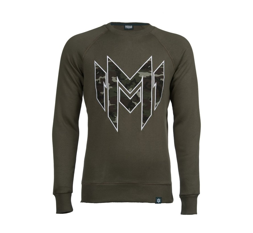Green Minus Militia sweater