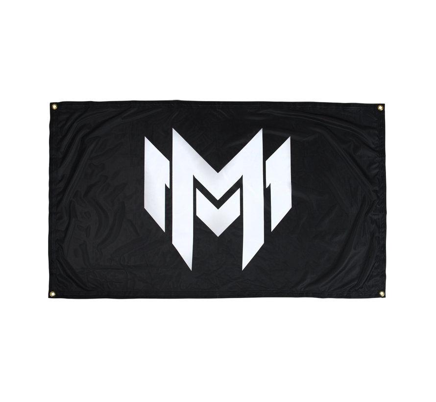 MINUS MILITIA LOGO FLAG
