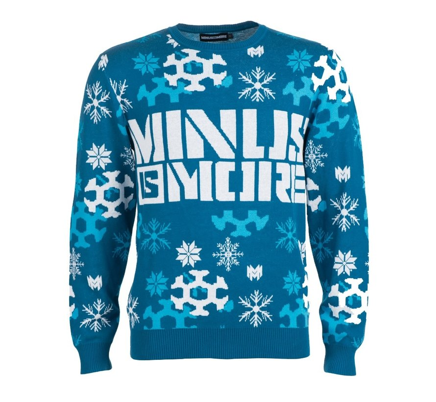 MINUS IS MORE CHRISTMAS SWEATER